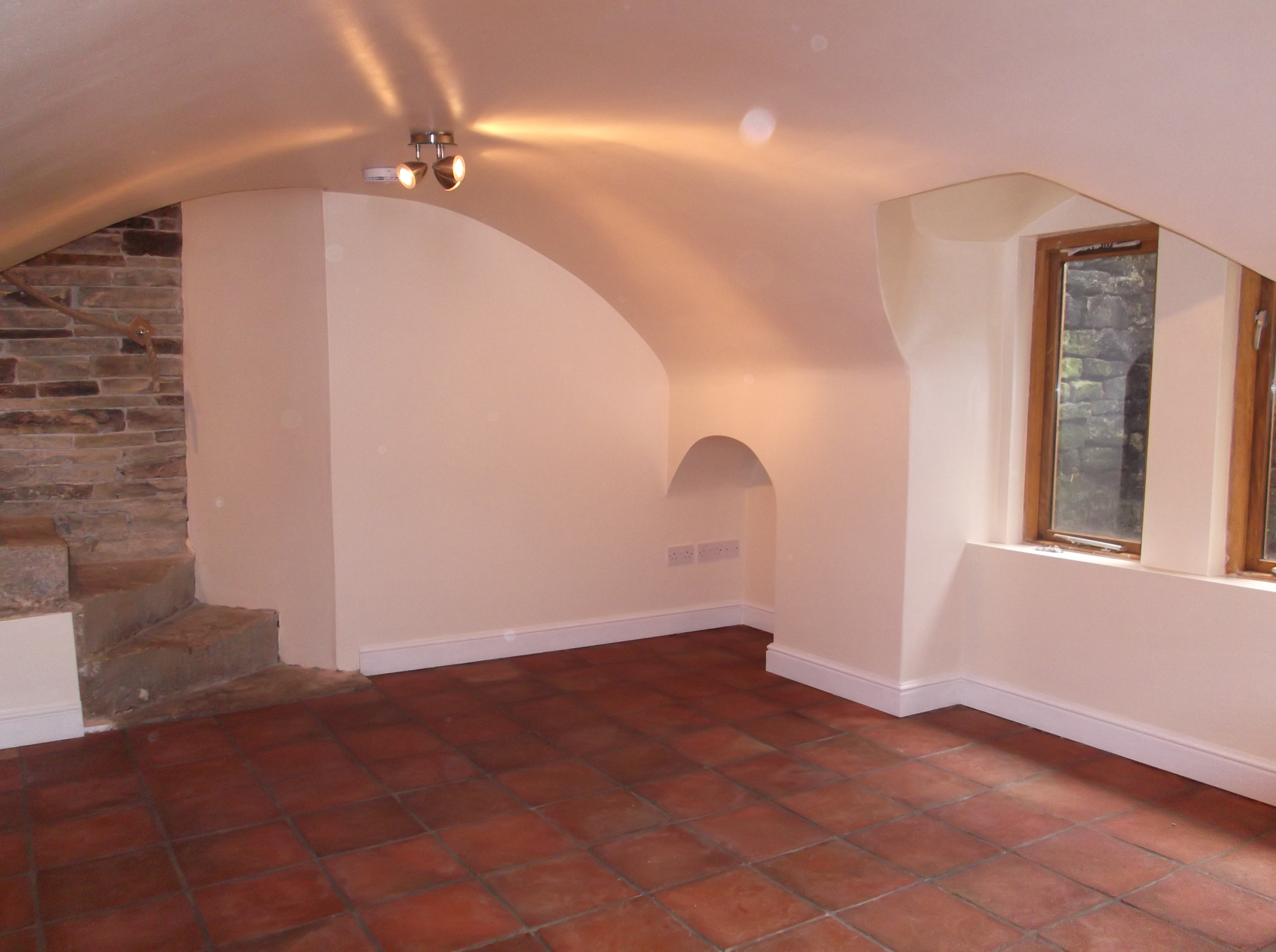 Vault Ceiling Cellar Conversion In Oldham By Stone Dry