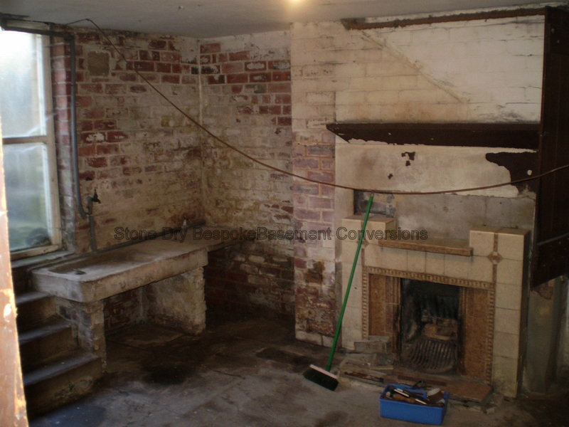 Kitchen and Music Room Basement Conversion - Stone Dry ...