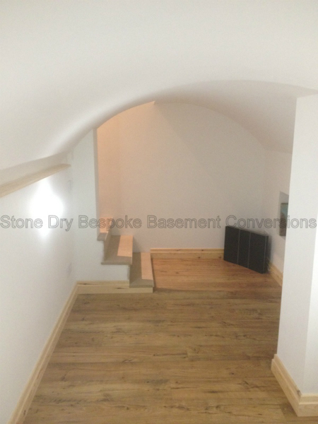 Small Vault Cellar Music Room Conversion - Stone Dry ...