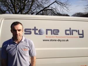 Nigel Lyons Owner of Stone Dry Bespoke Basement Conversions