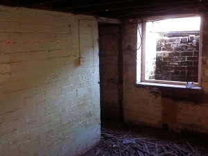 image of before we started the basement conversion