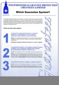 Stone Dry Guarantee - Leaflet