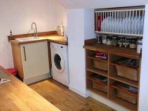 Cellar Conversion Huddersfield kitchen after