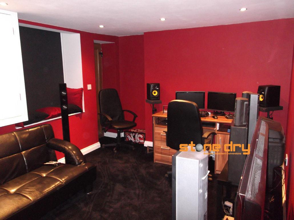 Basement Home Recording Studios